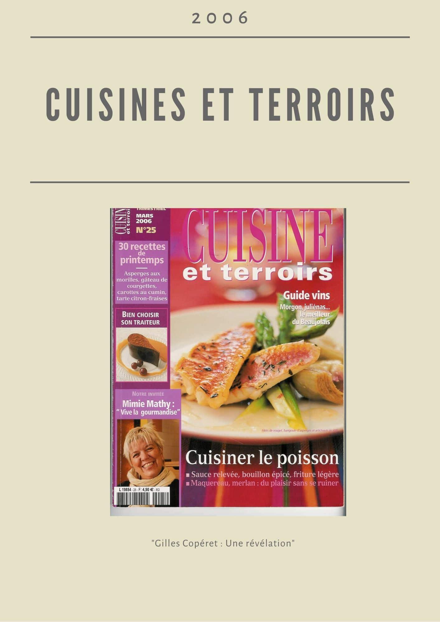 Cuisine et terroir 2006