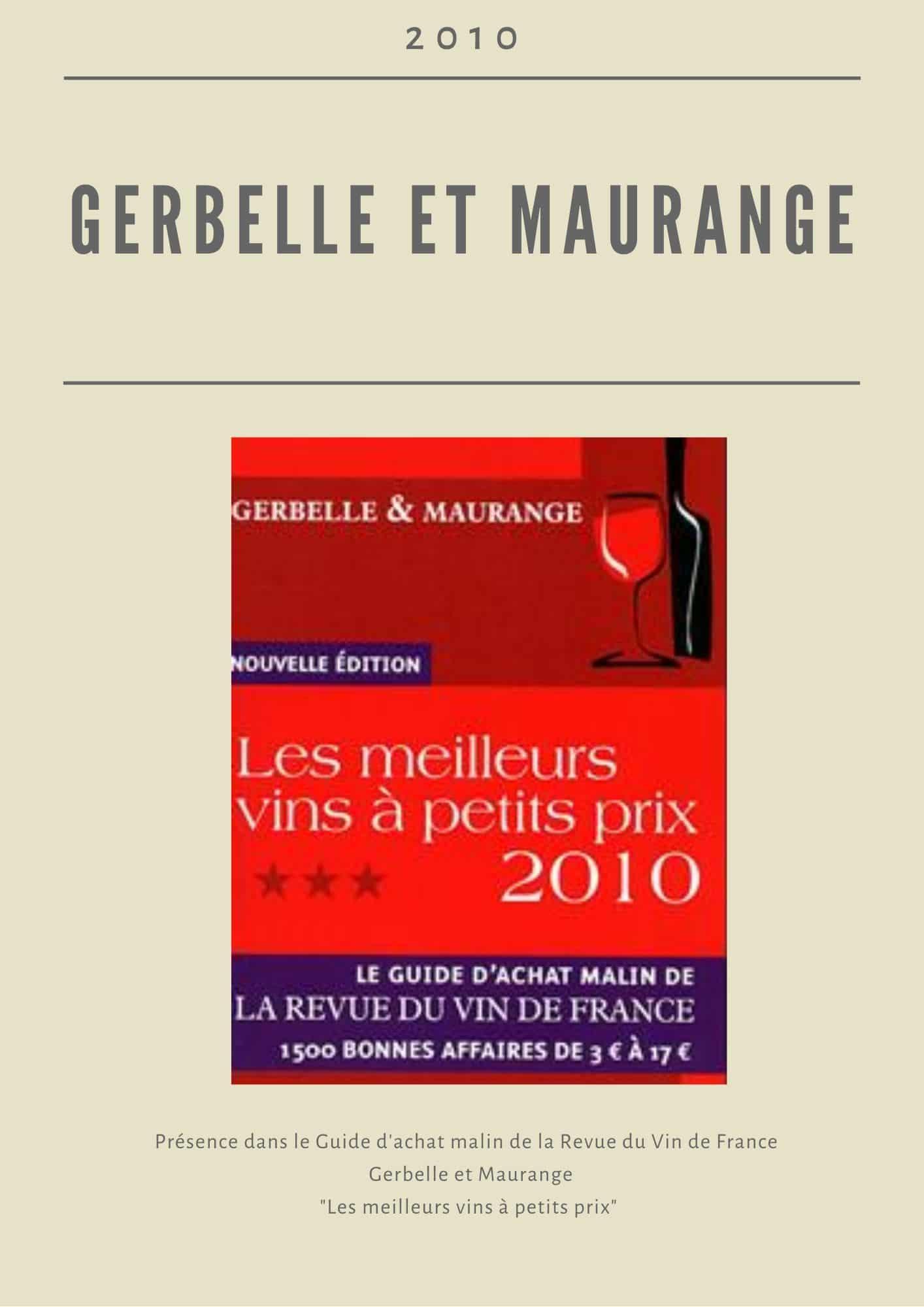 Gerbelle & Maurange