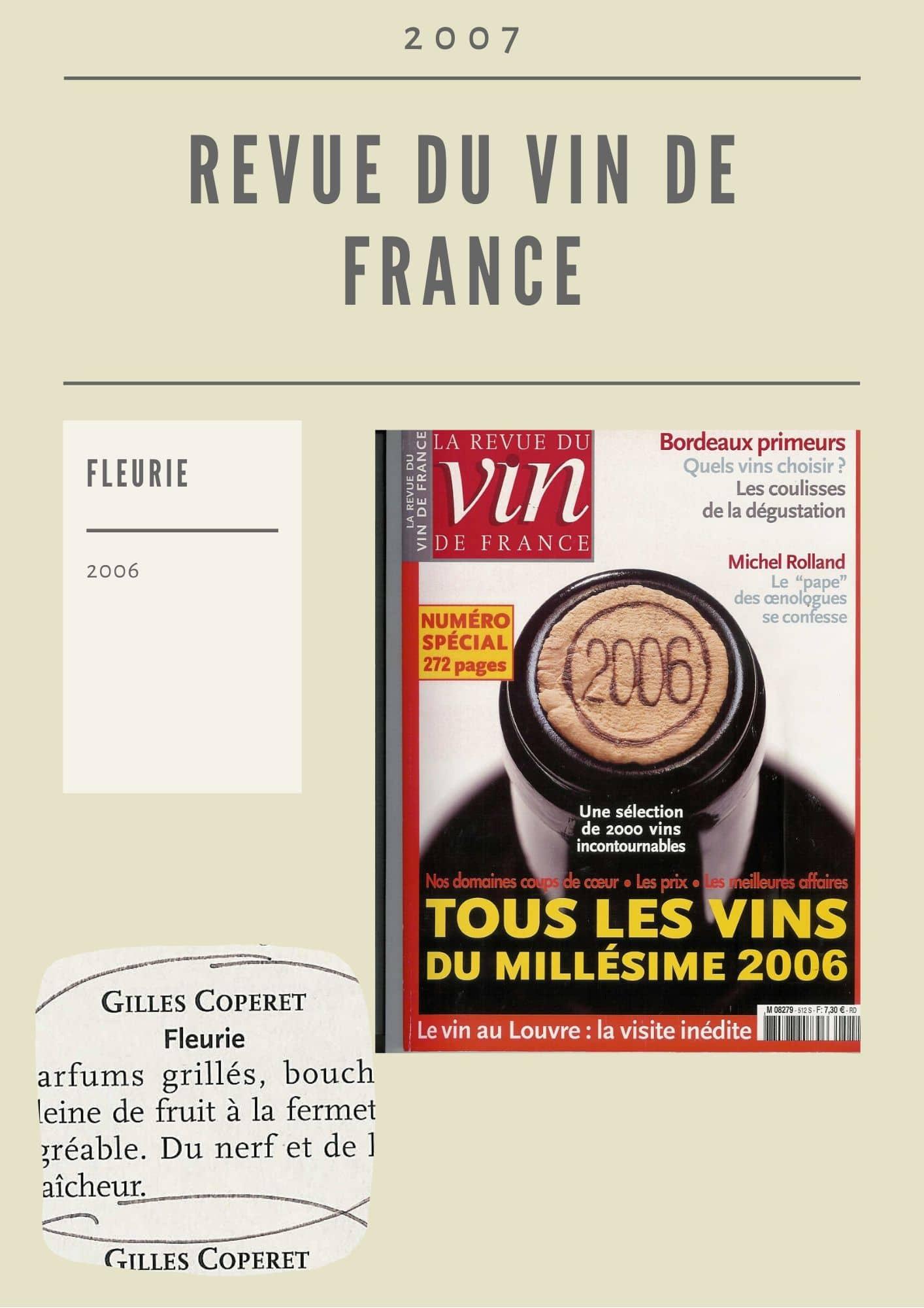 La Revue du vin de Fance 2006